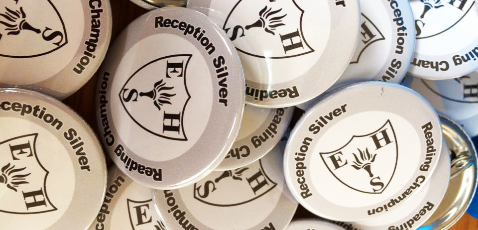 school achievement badges made in the UK by BadgeBoy - The Personalised Badge Experts