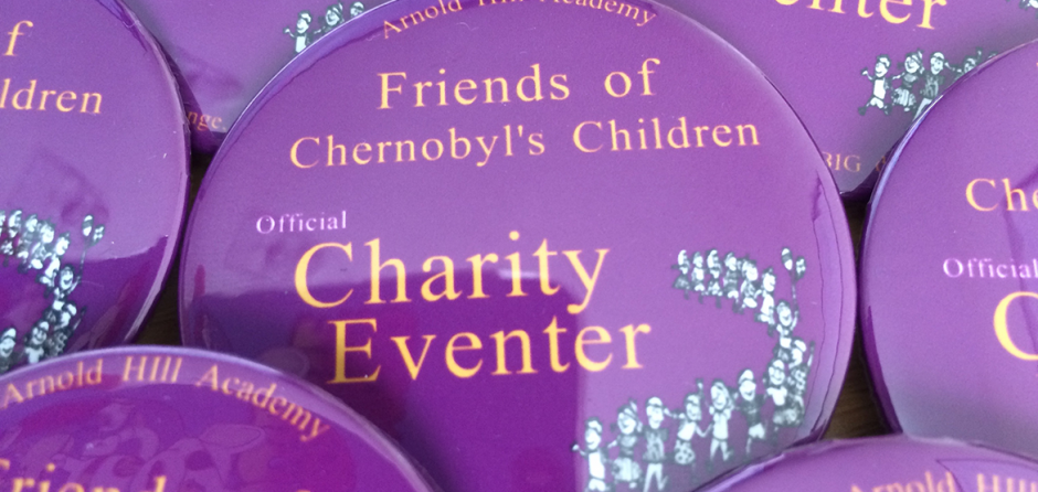 promotional charity button badges made in the UK by BadgeBoy - The Personalised Badge Experts
