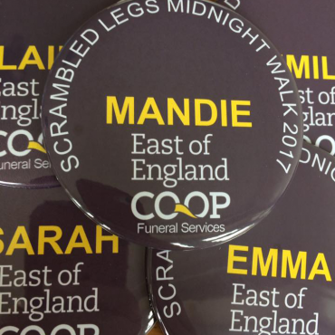 promotional button badges made in the UK by BadgeBoy - The Personalised Badge Experts