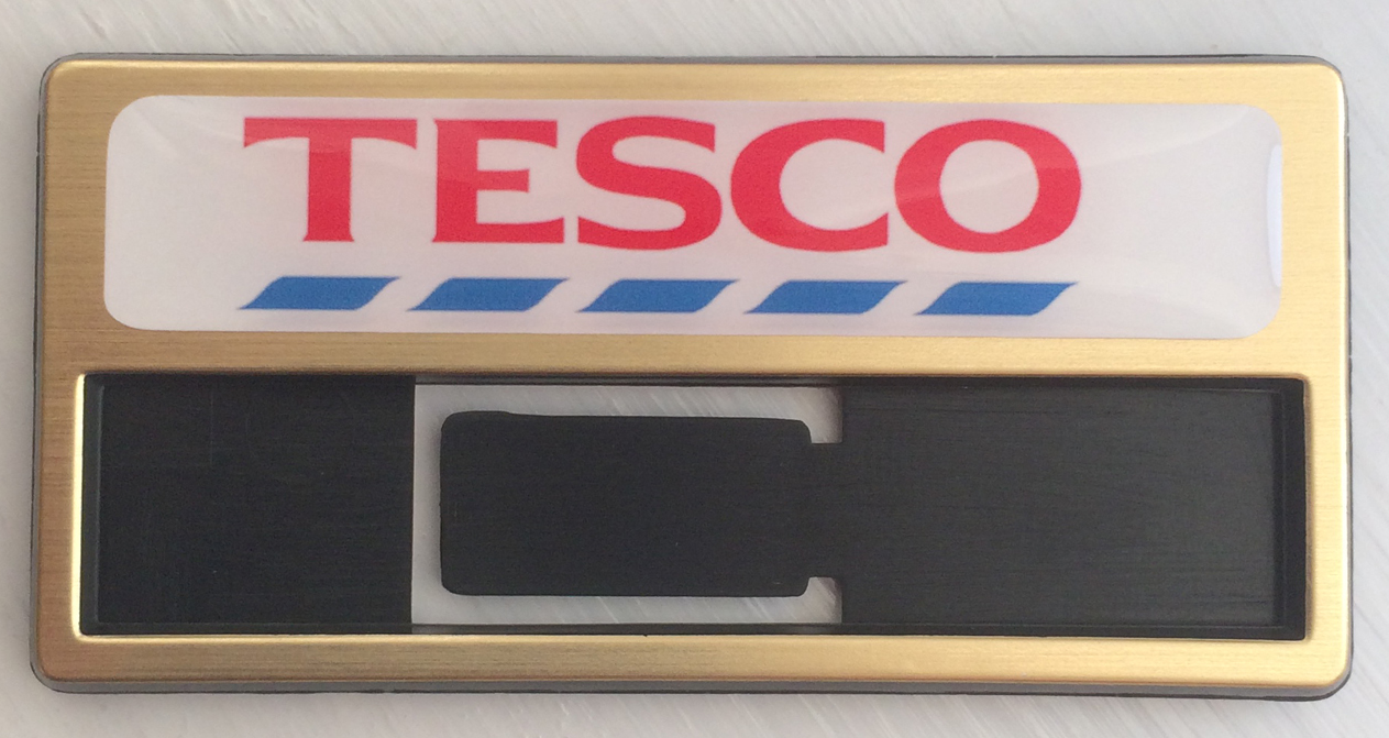 reusable name badges made in the UK by BadgeBoy - The Personalised Badge Experts