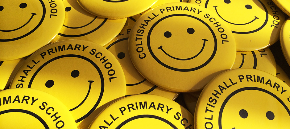 school button badges made in the UK by BadgeBoy - The Personalised Badge Experts