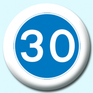 Personalised Badge: 75mm 30 Button Badge. Create your own custom badge - complete the form and we will create your personalised button badge for you.