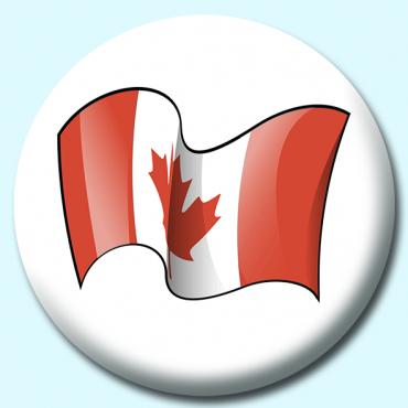 75mm Canada Button...