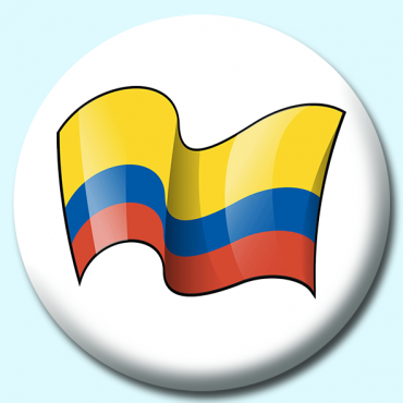 75mm Colombia Button...