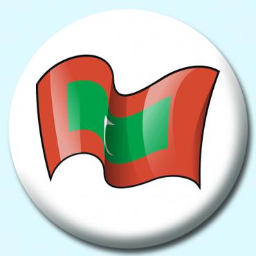 75mm Maldives Button...