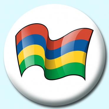 75mm Mauritius Button...