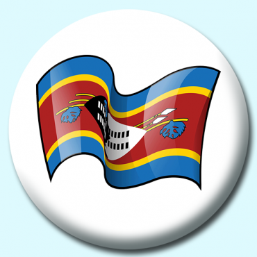 75mm Swaziland Button...