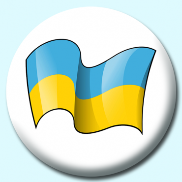 75mm Ukraine Button...