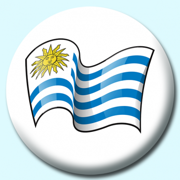 75mm Uruguay Button...