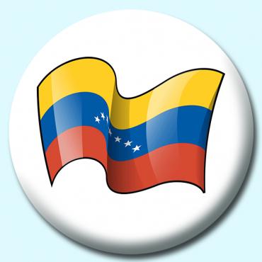 58mm Venezuela Button...
