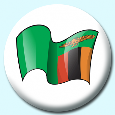 75mm Zambia Button...