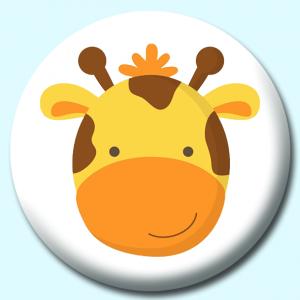 25mm Animal Face Badges