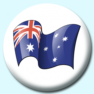 75mm Australia Button...