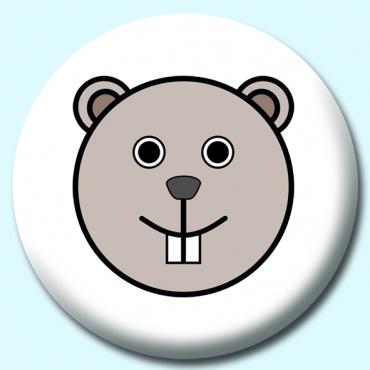 25mm Beaver Button...