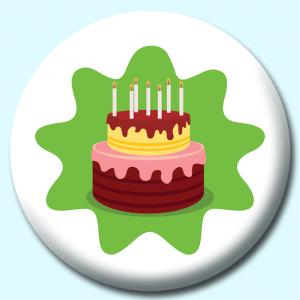 75mm Birthday Badges