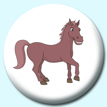 38mm Brown Horse...