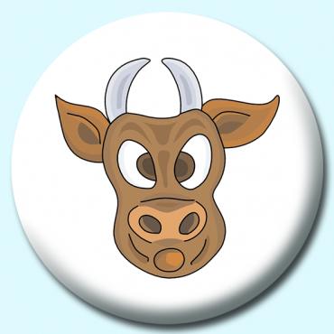25mm Bull Button...
