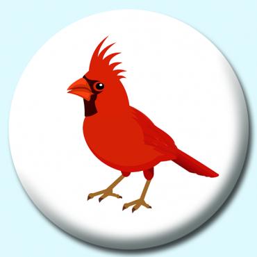 38mm Cardinal Bird...
