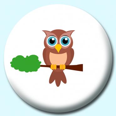 58mm Cartoon Owl...