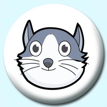 75mm Cat Button...
