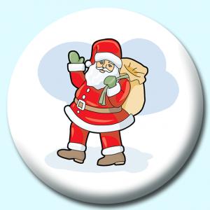 75mm Christmas Badges