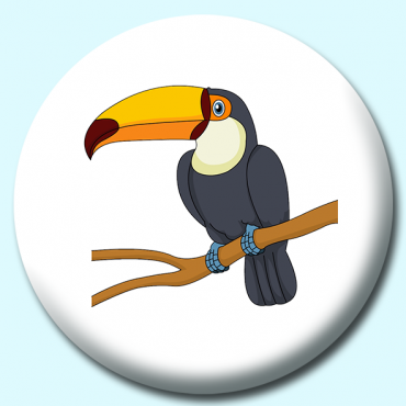 38mm Colorful Toucan...