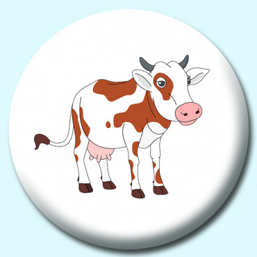 75mm Cow Button...