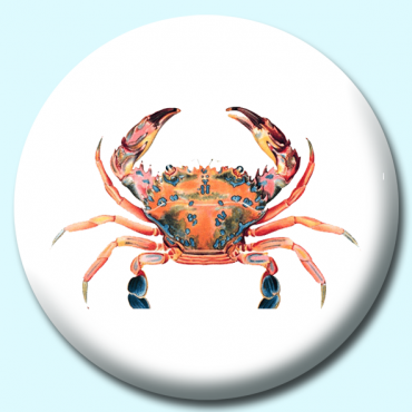 58mm Crab Button...