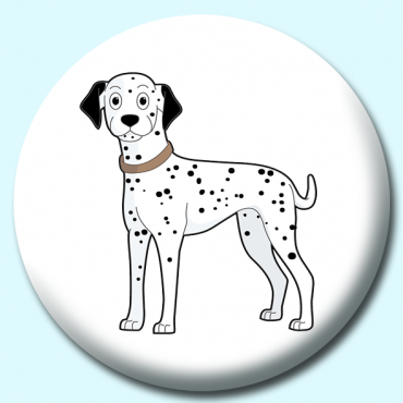 58mm Dogs Dalmation...