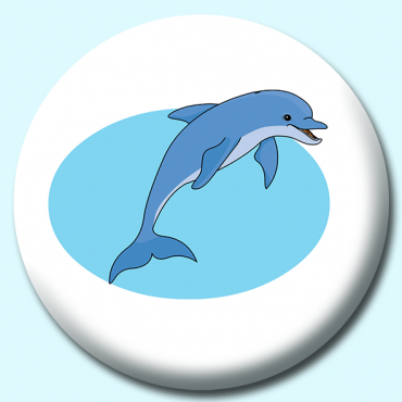 58mm Dolphin Button...