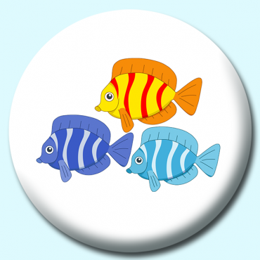 58mm Fish Button...