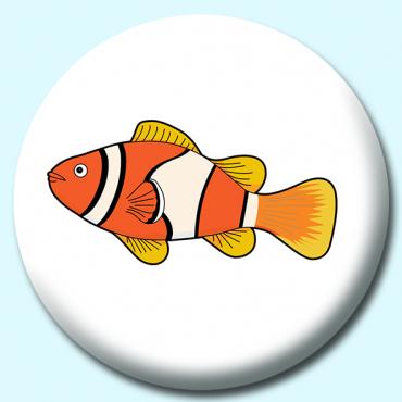 38mm Fish Clownfish...