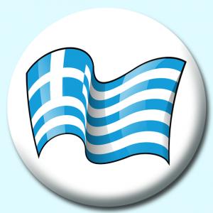 75mm Flag Badges