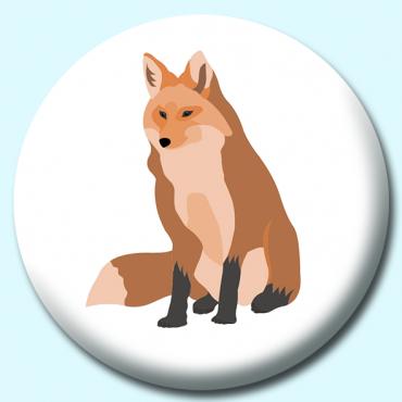 25mm Fox Button...