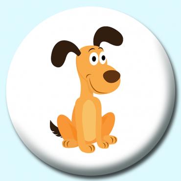 58mm Funny Dog...