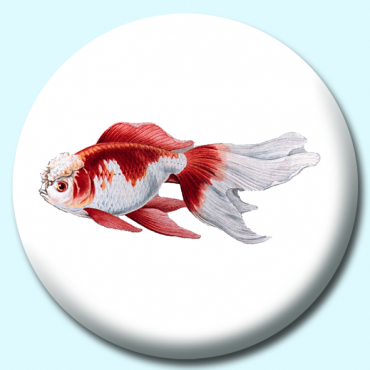58mm Goldfish Button...