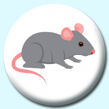 58mm Gray Mouse...