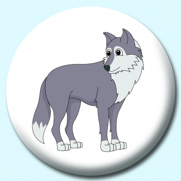 25mm Gray Wolf...