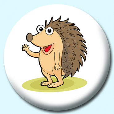 38mm Hedgehog Cartoon...