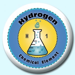 75mm Chemical Element Badges