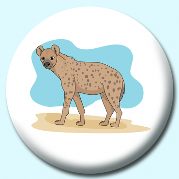 58mm Hyena Button...