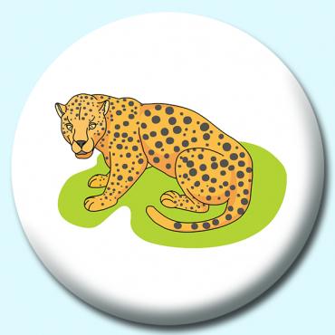 25mm Leopard Button...