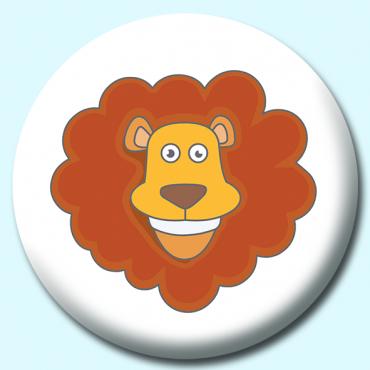 75mm Lion Button...