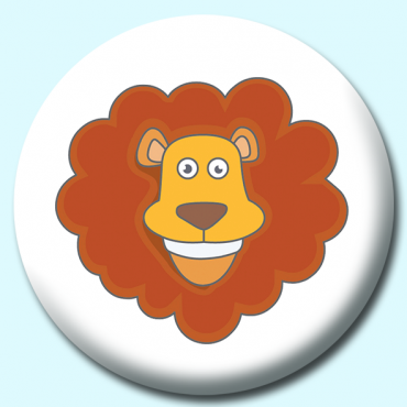 25mm Lion Button...