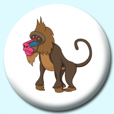 58mm Mandrill Baboon...