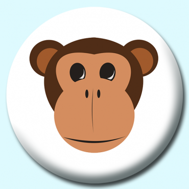 75mm Monkey Button...