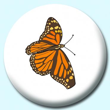 38mm Orange Butterfly...