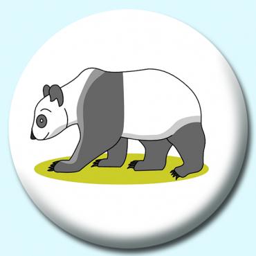 25mm Panda Button...