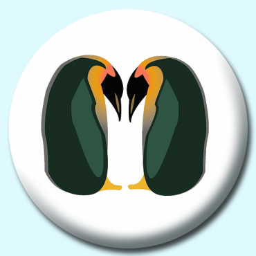 25mm Penguins Button...