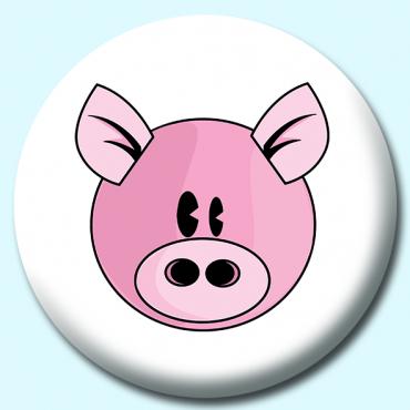 58mm Pig Button...